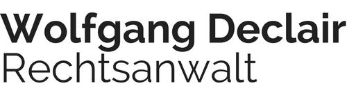 Rechtsanwalt Wolfgang Declair